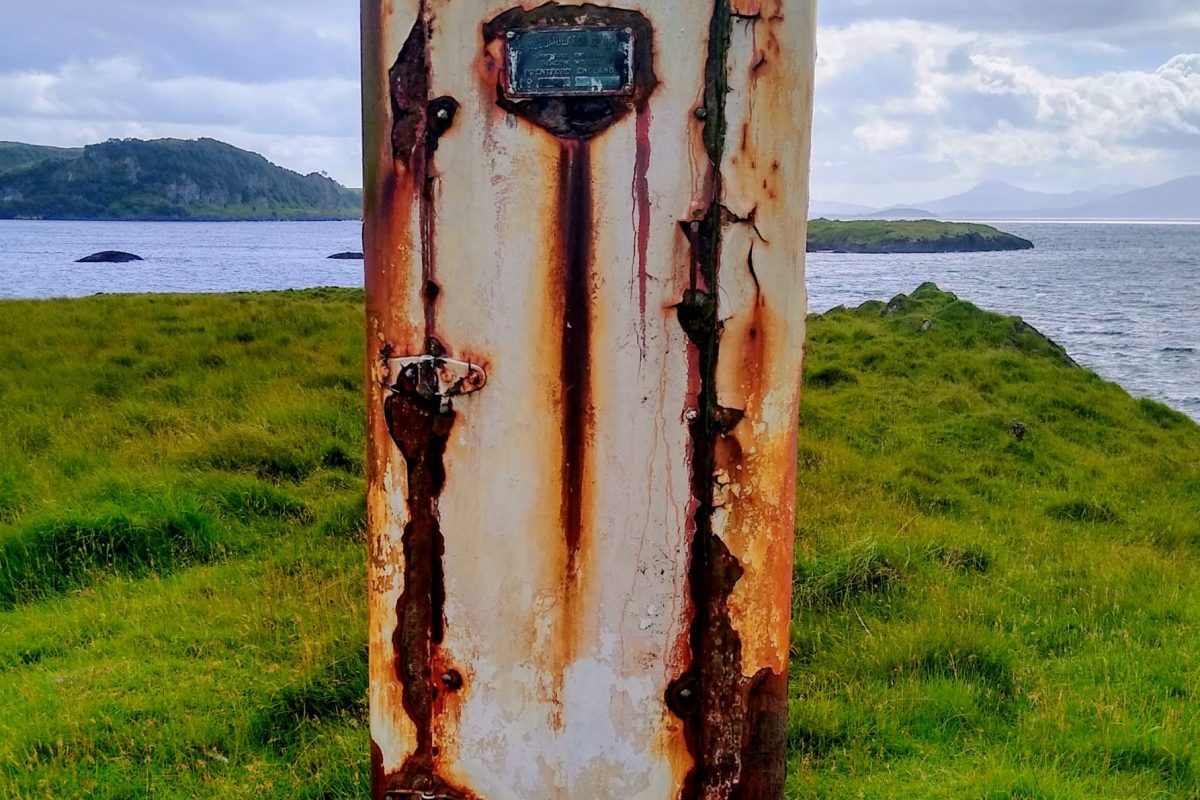 Photo from walk: A gas beacon on the south west