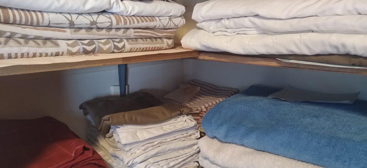 I've washed folded and put away