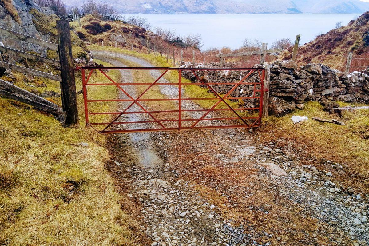 Gate, Sailean road