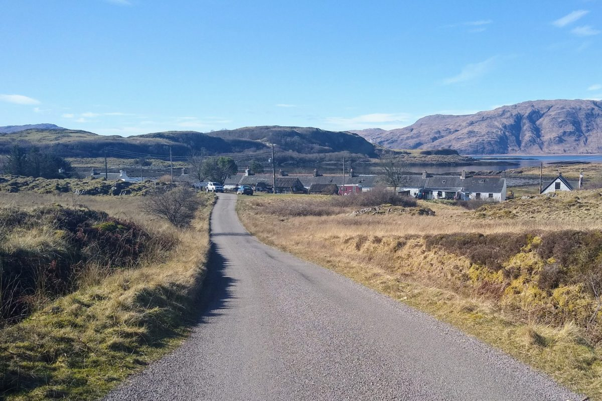 Road to Port Ramsay