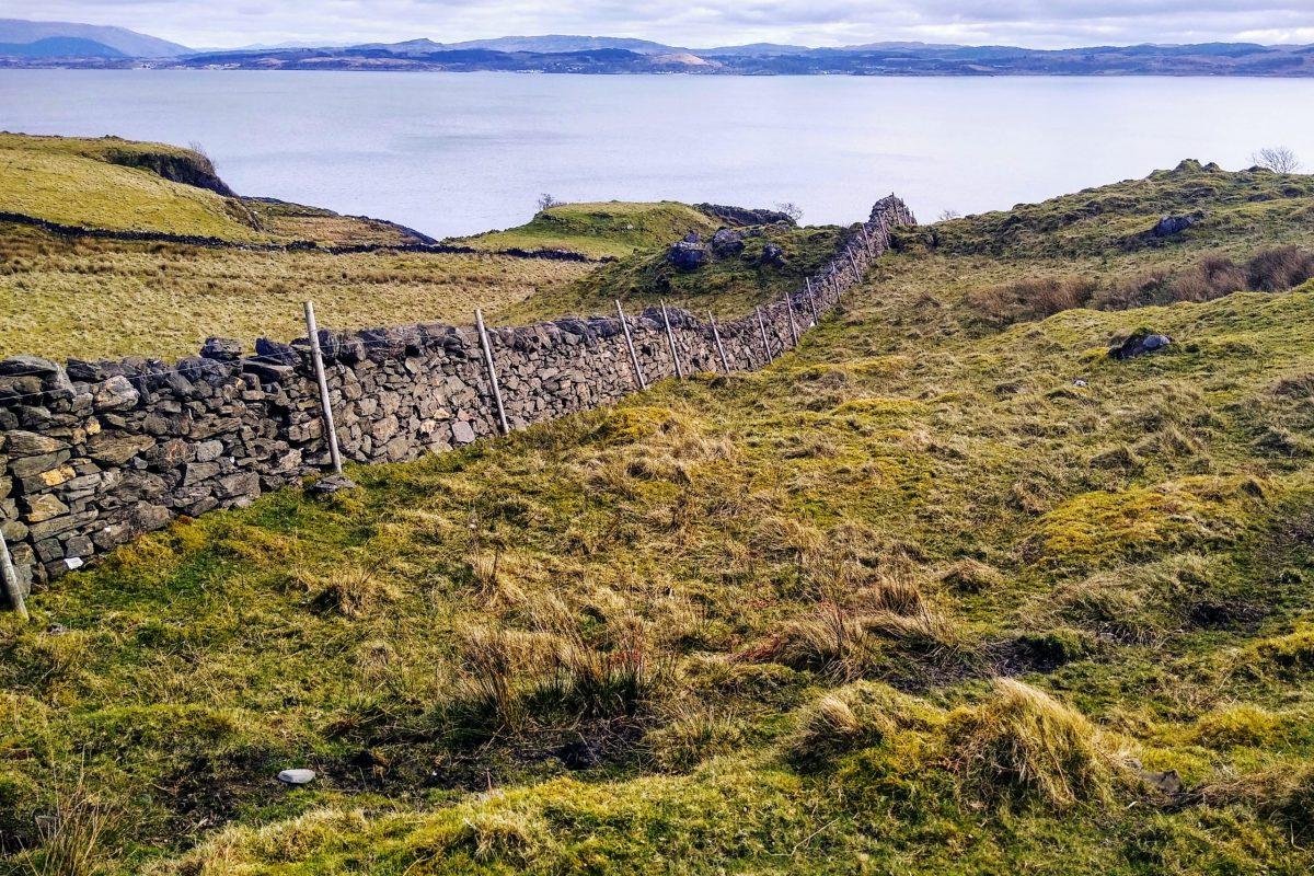 Dalnarrow Fiart wall
