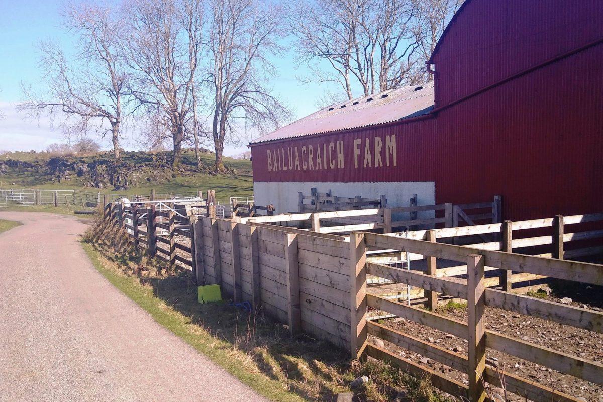 Bailuacraich Farm, Lismore