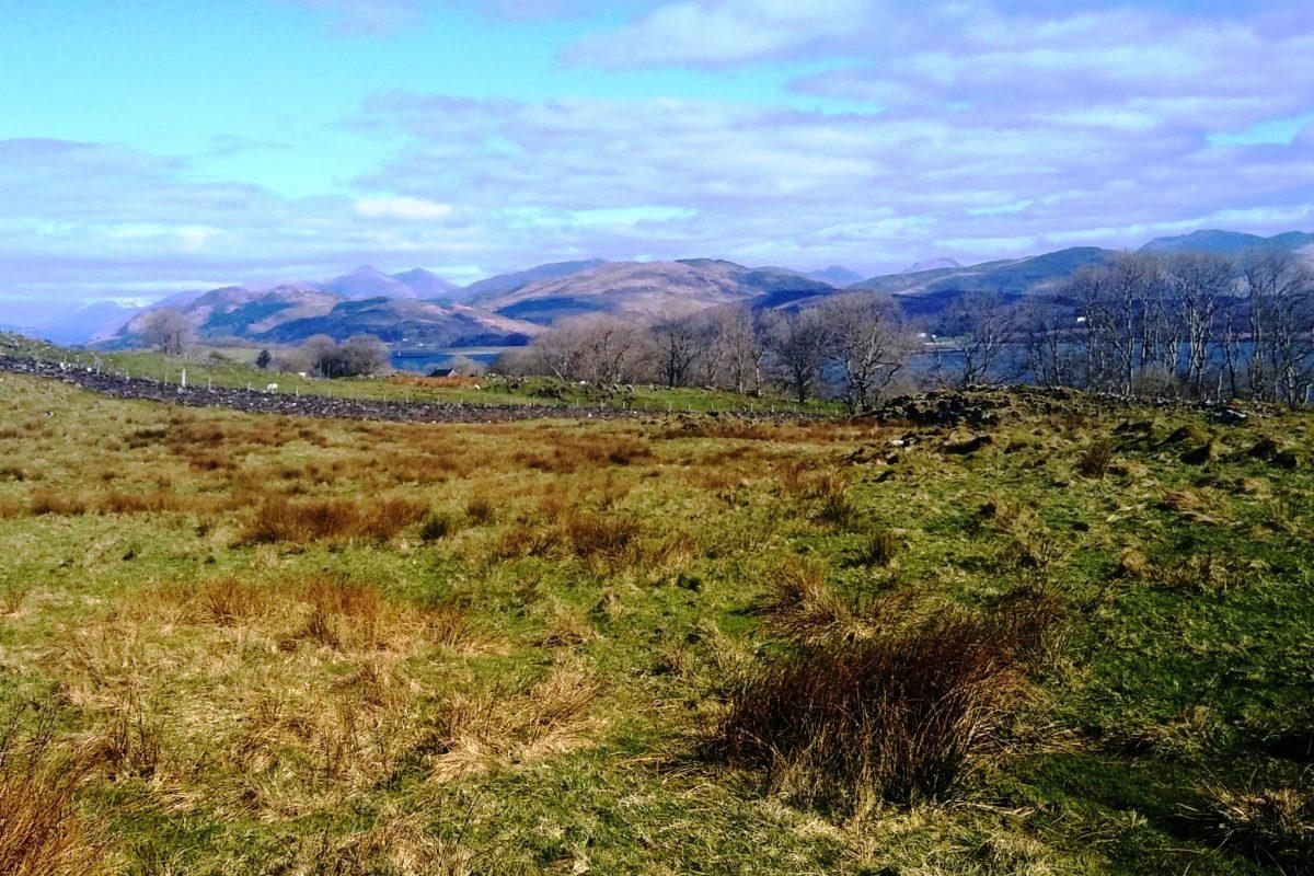 Twin mainland peaks, Ballachulish