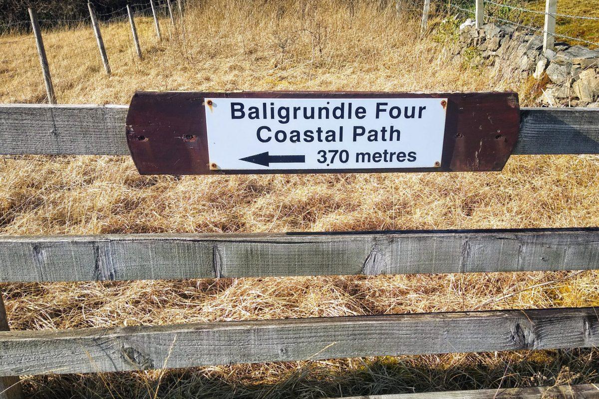 Baligrundle 4 sign