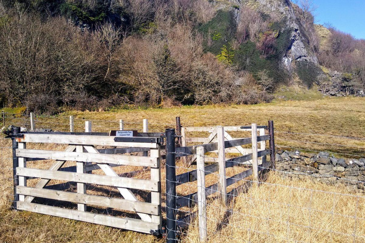 Double Gate into Baligrundle 4