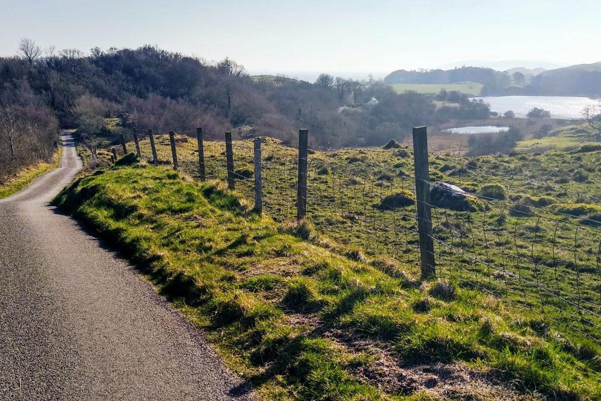 Looking back, Loch Kilcheran