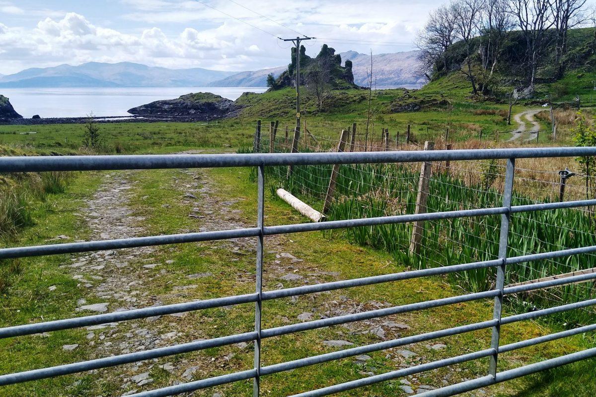 Gate to croft