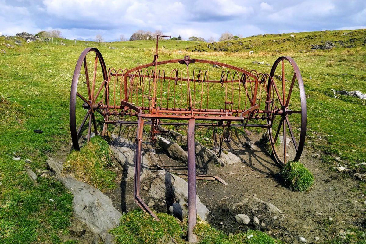 Museum piece: hay turner