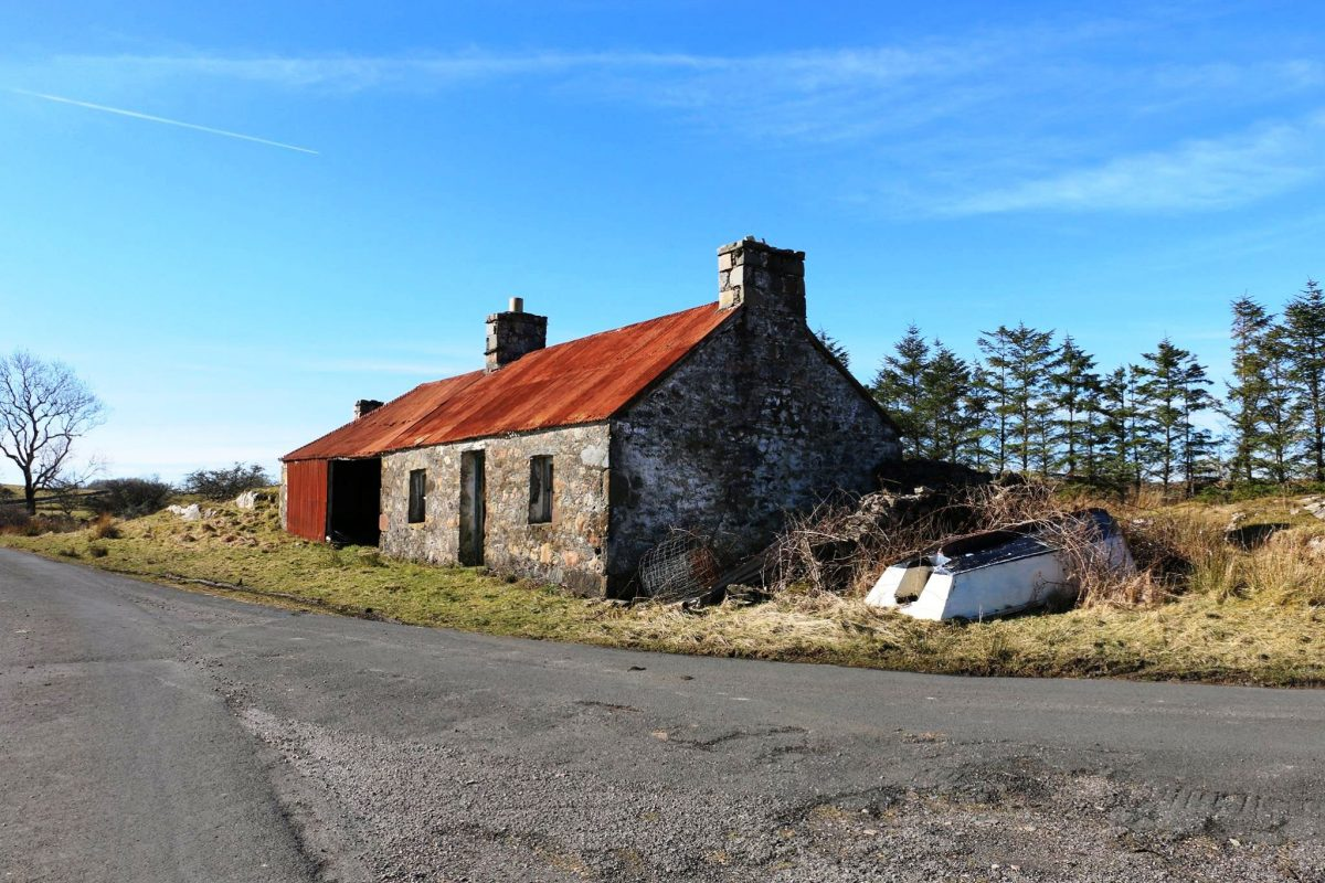 Stronacraoibh: house and steadings, now gone